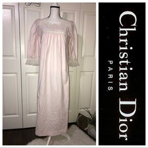 Vintage Christian Dior lingerie night gown